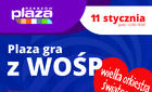 Plaza Rzeszów na rzecz WOŚP 2015