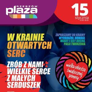 Wielka Orkiestra Świątecznej Pomocyw w galerii Plaza Rzeszów