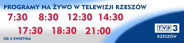 TVP3 Rzeszów zaprasza