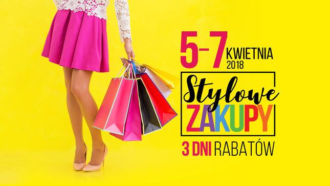 Stylowe Zakupy w Millenium Hall – akcja rabatowa 5 kwietnia - 7 kwietnia 2018