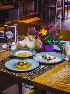Restauracja Folk z 3-daniowym lunchem