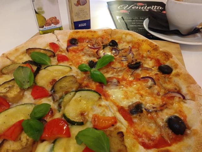 Vendetta serwuje pyszną pizzę