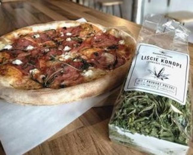 Pizzeria Vendetta: pizza z dodatkiem… konopi