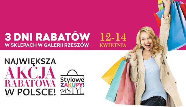 """Weekend Zniżek z magazynami """"Twój Styl"""" i """"Show"""" w Galerii Rzeszów"""
