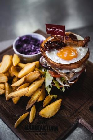 Najlepsze burgery Browaru Manufaktura