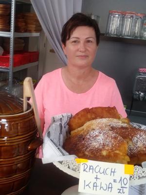 Pani Beata, właścicielka i jednocześnie Szefowa Kuchni