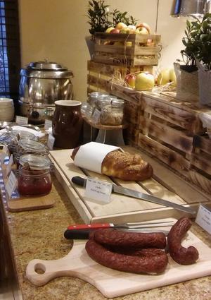 Śniadanie w regionalnym, podkarpackim klimacie