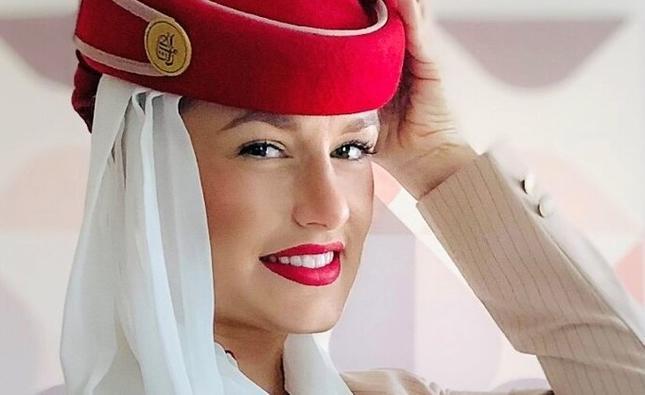Kraolina Chudy, stewardessa z linii Emirates