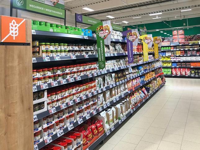 Produkty wege w Kauflandzie - nowa oferta